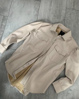 C&A Yessica Leather Shirt nude-cream