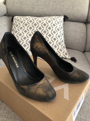 Leder High heel