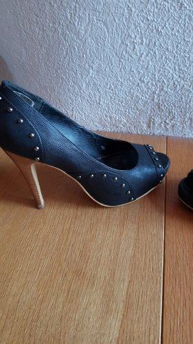 Chillany Hoge hakken sandalen zwart