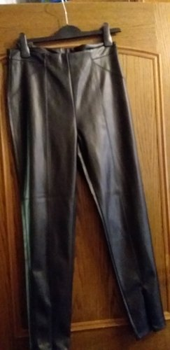 C&A Leather Trousers black