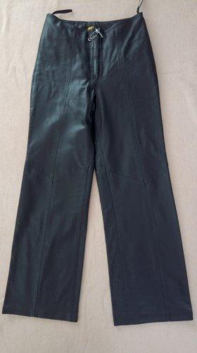 sandra morales Pantalone in pelle nero