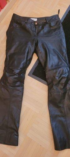 rick cardona Pantalón de cuero negro