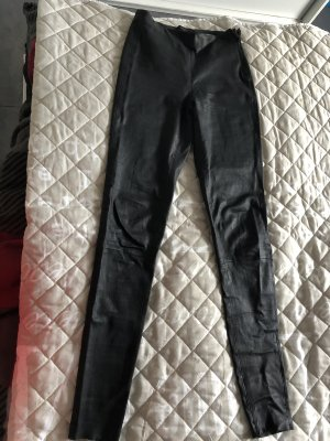 Aniston Selected Pantalon en cuir noir