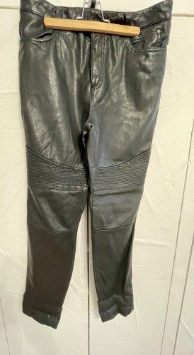 Oakwood Leather Trousers black