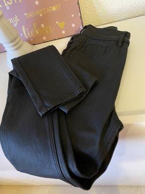 Pimkie Pantalon en cuir noir