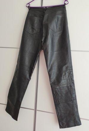 Gipsy Pantalón de cuero negro Cuero