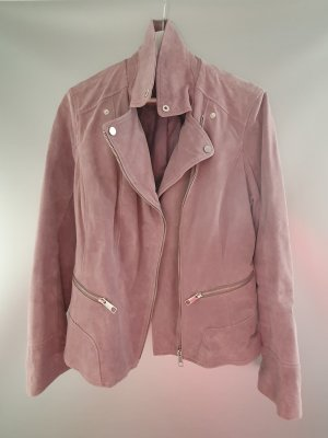 C&A Leather Jacket pink-mauve