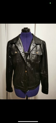 Colluseum Leather Jacket black