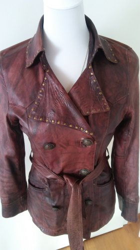 Oakwood Leather Jacket brown leather