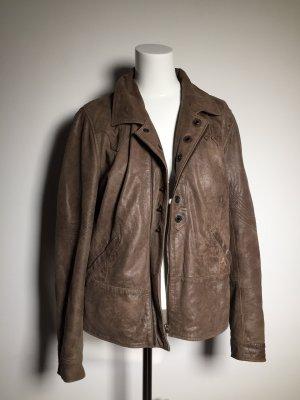 Leder Jacke Vintage