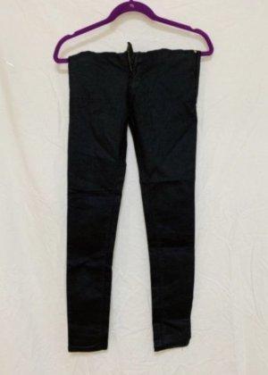 Leder Jeans