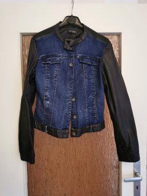 Leder-Jeans Jacke