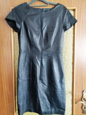 Hallhuber Robe mi-longue noir