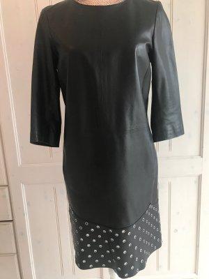 Leder -Kleid