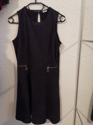 Pimkie Robe en cuir noir