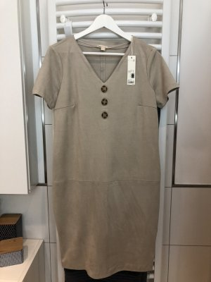 Leder Kleid Esprit beige