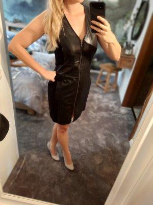 Kenny S. Leather Dress black
