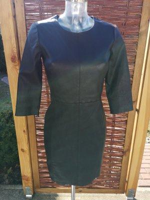 Leder Kleid mit Reißverschluß!
