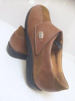 Leder Laufschuh der Marke Helvesko. Modell Ladysko. Farbe 2-Fb. braun. Super bequem.