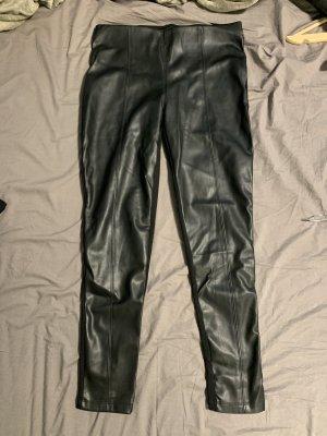 UP Fashion Skórzane spodnie czarny