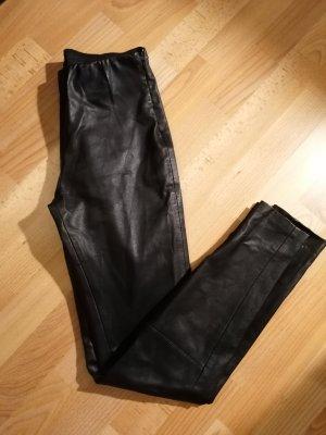 Forever 21 Leren broek zwart