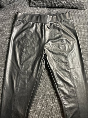 Amisu Leather Trousers black