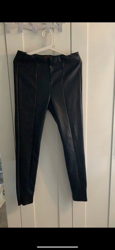 s. Oliver (QS designed) Leather Trousers black
