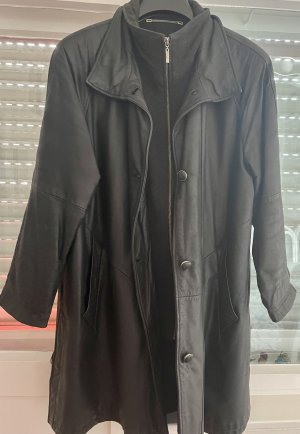 Canda Leather Coat black