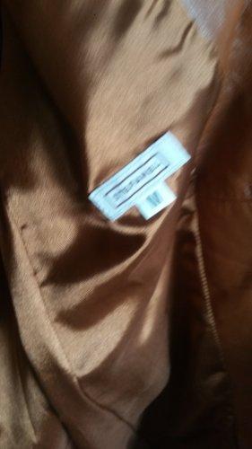 Leder mantel und Hose