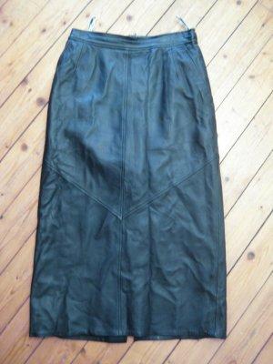 Ledermann Jupe en cuir noir cuir