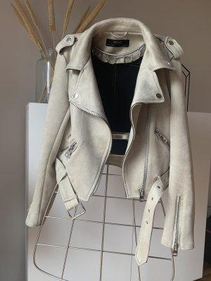 Leder Optik Jacke, Zara - kein echtes Leder