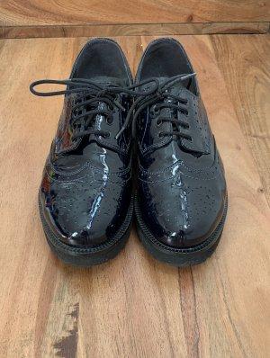 Leder Oxford Schuhe
