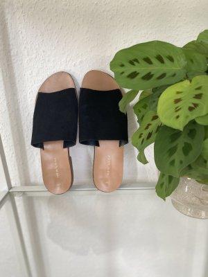 New Look Sandalo con cinturino nero-color carne