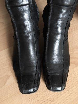 Plateauzool Laarzen zwart