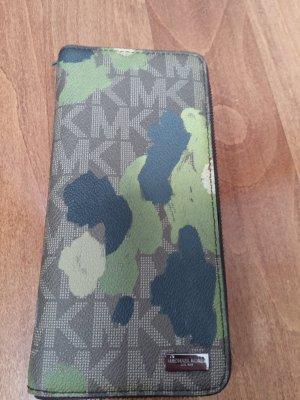 Leder Portemonnaie Camouflage Optik