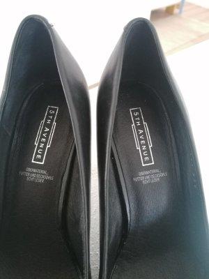 5th Avenue Classic Court Shoe black leather