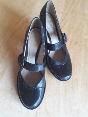 Clarks Escarpins Mary Jane noir cuir
