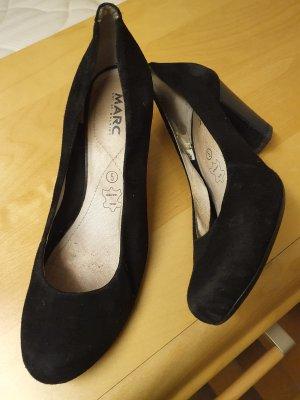 Leder Pumps Absatz Schuhe