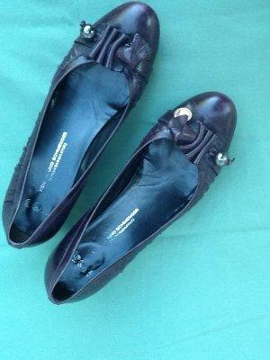 Kennel + schmenger Loafer blu-viola Pelle
