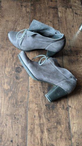 Tamaris Tacones con cordones gris-gris oscuro