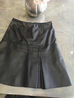 Schuhmacher Leren rok zwart