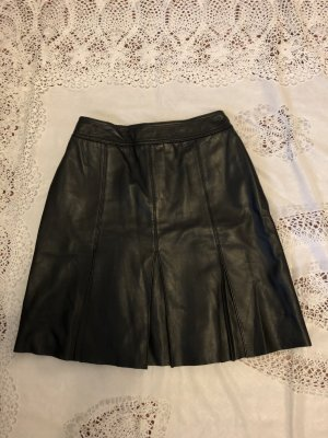 Esprit Skórzana spódnica czarny