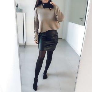 Garcia Jeans Jupe en cuir noir