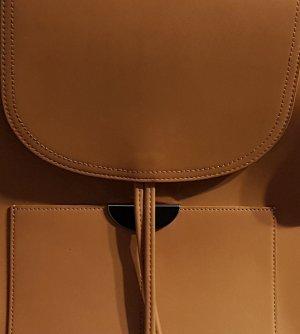 Plecak beżowy-różany