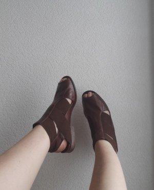 Everybody Sandalo romano marrone-marrone scuro Pelle