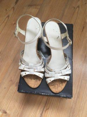 Daniel Hechter Platform Sandals multicolored leather