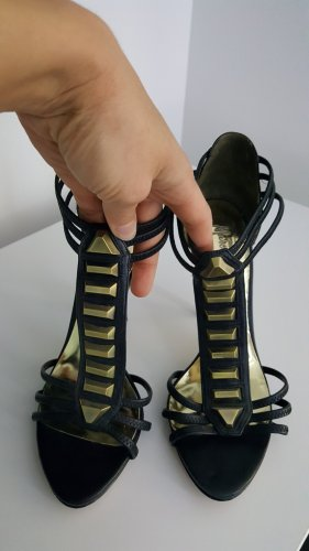 Guess by Marciano High Heel Sandal black-gold-colored