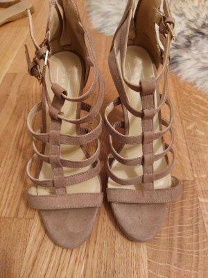 Leder Sandaletten 40 beige Top