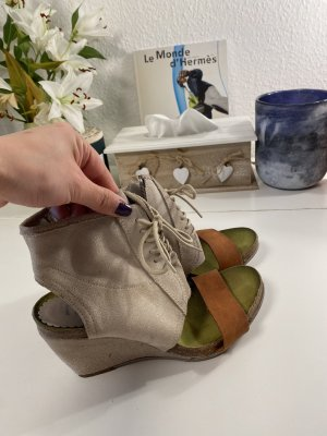 Wedge Sandals beige-brown