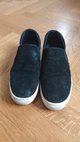 H&M Slip-on Sneakers white-black